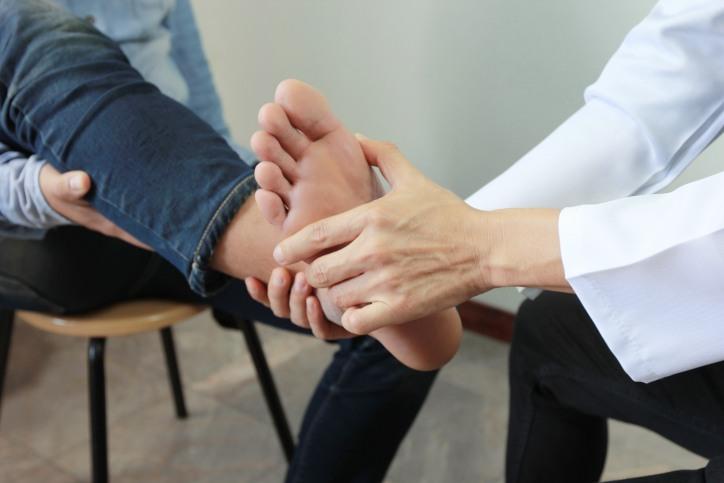 Lesion de tobillo
