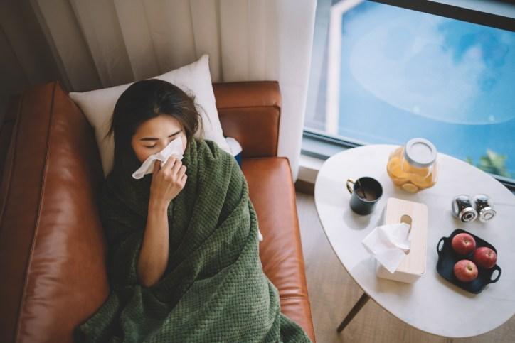 Resfriado de viaje