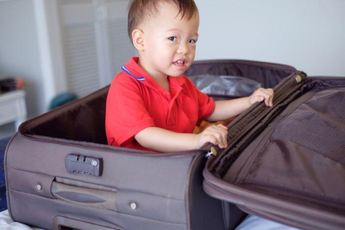 Haciendo maletas para viajar