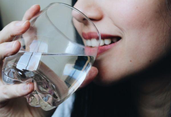 agua para tomar